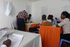 Training health workers on malaria diagnostic testing
